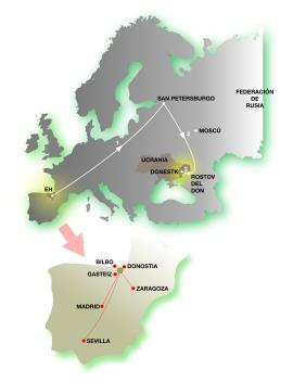 Mapa donbassEH