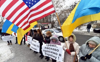 UKRAINE-US-TRUMP-INAUGURATION-SUPPORTERS