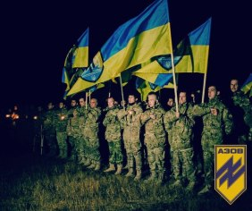 Azov-Battalion-ceremony-in-village-of-Urzuf-near-Mariupol-Oct-22-2015